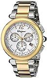 Salvatore Ferragamo Women's F77LCQ9502 S095 Idillio Gold Ion-Plated Stainless Steel Watch