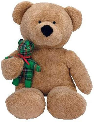 MINT with MINT TAG TY BEARY MUCH the BEAR BEANIE BABY