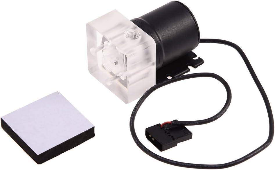 240mm Heat Sink+Cylindrical Water Reservoir+Universal CPU//GPU Block+Transparent Hose+LED Fans DIY Computer Water Cooling Kit
