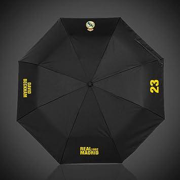 wei Umbrella Football Fans Gift Automatic Umbrella Lluvia o Brillo Doble Uso Paraguas Plegable,Real