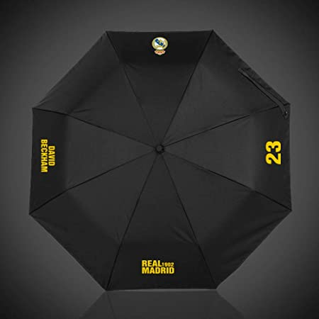 wei Umbrella Football Fans Gift Automatic Umbrella Lluvia o Brillo Doble Uso Paraguas Plegable,Real Madrid,Un tamaño: Amazon.es: Deportes y aire libre