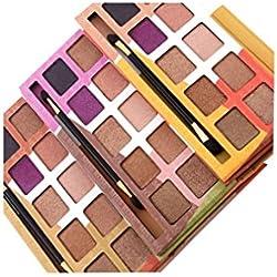 Matte Eyeshadow , Hunzed Women 10 Colors Cosmetic Eye Shadow Set Earth Color Eye Shadow Palette Luxury Makeup Eyeshadow For Beauty (B)