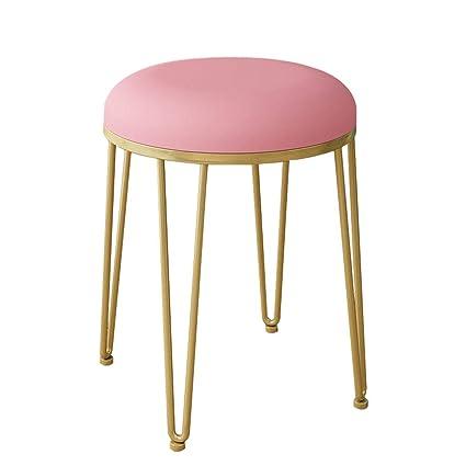 Excellent Round Vanity Stool Footstools Ottoman Makeup Bench Andrewgaddart Wooden Chair Designs For Living Room Andrewgaddartcom