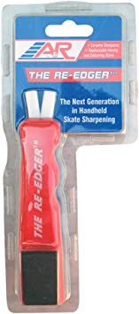 Ice Skates Blade Sharpener Sport Edger Skate Sharpener Multi Function Blade Sharpening Double Sided Whetstone