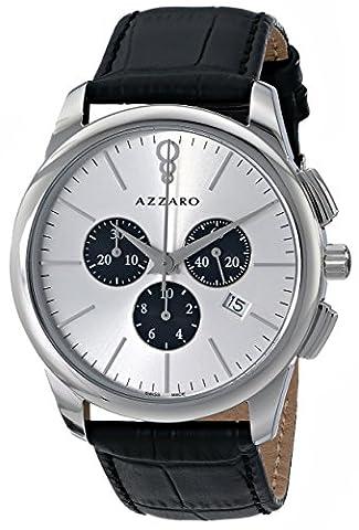 Azzaro Men's AZ2040.13SB.000 Legend Analog Display Swiss Quartz Black Watch (Azzaro Men Quartz)