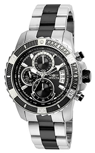 Invicta Men's Pro Diver Quartz Watch with Stainless-Steel Strap, Two Tone, 22 (Model: 22416) ()