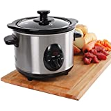 1.5L Slow Cooker Stainless Steel