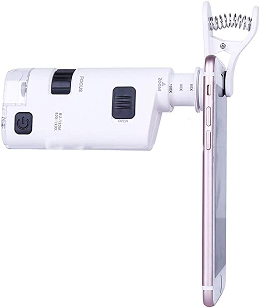 SXMXO 40-60X Lupa Ultra Clara con luz LED Manos Libres Fotografía ...