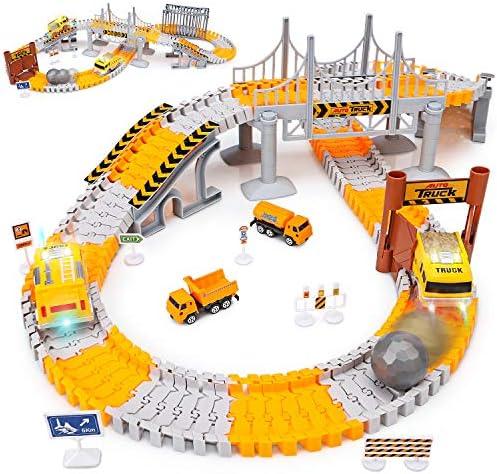 Engineering Tracks 161pcs Flexible Playset product image
