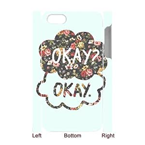 C-QUE Diy hard Case Okay Okay customized 3D case For Iphone 4/4s