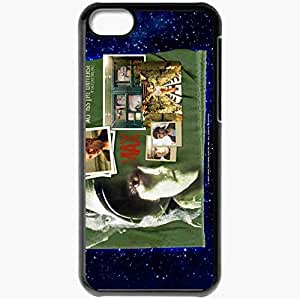 Personalized iPhone 5C Cell phone Case/Cover Skin Across the Universe Joe Anderson Max Carrigan face Movies Black