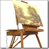 Artist Quality French Easel, Hardwood, Hand Varnished
