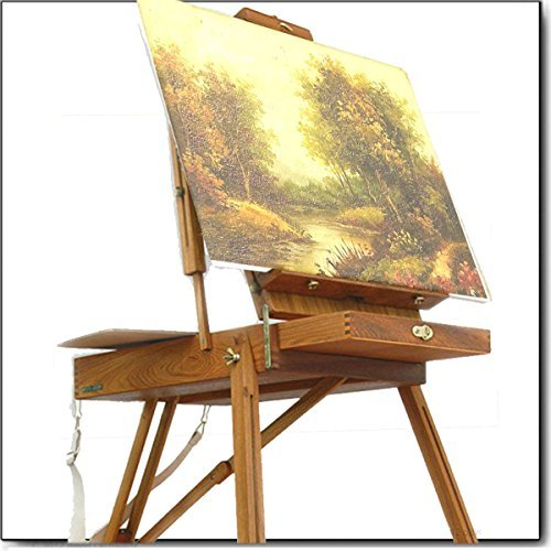 Artist Quality French Easel, Hardwood, Hand - Online Glasses French