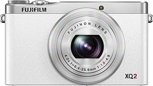 Fujifilm XQ2 White Digital Camera with 3-Inch LCD
