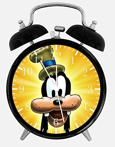 Goofy Twin Bells Alarm Desk Clock 4 Home Office Decor E135 Nice for Gifts