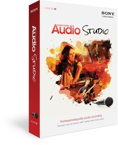 - Sony Sound Forge Audio Studio 10