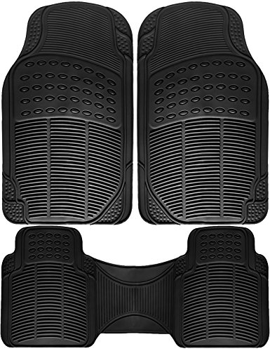 OxGord Universal 3 Piece Ridged Rubber product image