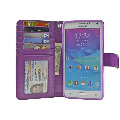 e9f7a76a869 The Best Note 4 Wallet Case Purple - See reviews and compare