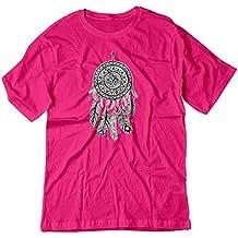 BSW Men's Dream Catcher Native Indian Nightmares Tribal Shirt
