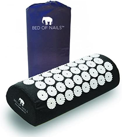 Amazon.com: Bed of Nails Original Acupressure Pillow for Neck/Body Pain Treatment, Relaxation, Mindfulness, Black: Health & Personal Care