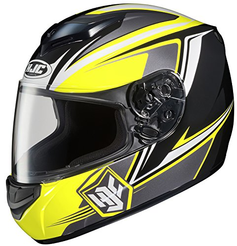 HJC CS-R2 Seca Full-Face Motorcycle Helmet (MC-3, Small) (Mc3 Motorcycle Helmet)