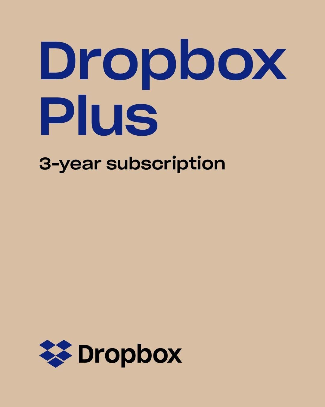Dropbox Plus - 2 TB of Storage for 3 Years (Upgrade from Dropbox Basic 2 GB) [Online Code] [PC/Mac Online Code] by Dropbox