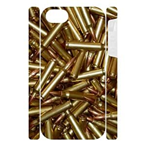 Canting_Good Weapons bullets Custom Dual-Protective 3D Polymer Case Shell Skin for IPhone 5
