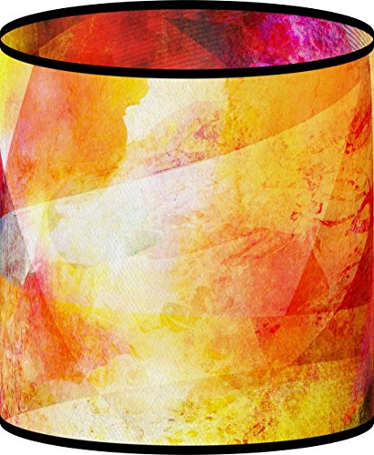LampPix 10.5 Inch Custom Printed Table Desk Lamp Shade Late Night Bonfire (Spider (Stained Glass Night Light Patterns)