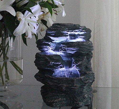 Springbrunnen-Niagara-mit-LED-Beleuchtung-IN-OUTDOOR-Zimmerbrunnen-Gartenbrunnen-Luftbefeuchter