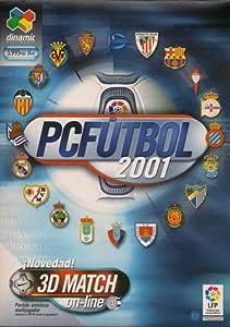 PC Fútbol 2001 en español Producto Oficial Videojuego Completo: Amazon.es: Videojuegos