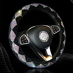 Diamond Bling Car Steering Wheel Cover