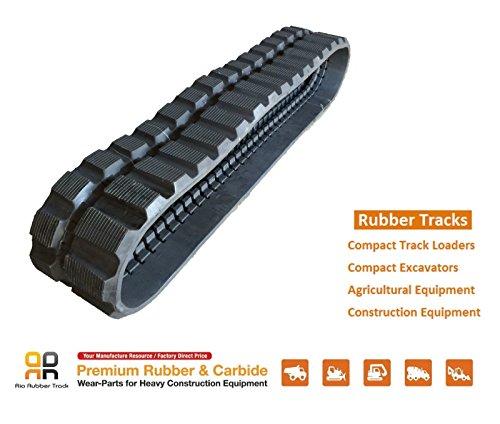 Rio Rubber Track 300x55.5x82 Yanmar VIO 30-1 30-2 30V 35 35-1 35-2 35CR 35-5 mini excavator from Yanmar