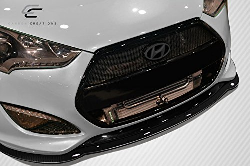 Amazon.com: Carbon Creations Replacement for 2012-2017 Hyundai Veloster Turbo GT Racing Front Splitter - 1 Piece: Automotive