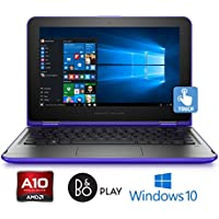 "HP Pavilion 15-b215cy Laptop, AMD A10-8700P, 8GB, 1TB HD, 15.6"" HD Touchscreen (Certified Refurbished)"