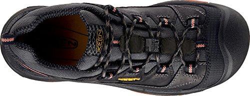KEEN Utility Men's Braddock Low Steel-Toed Boot,Black/Bossa Nova,10.5 D US by KEEN Utility (Image #6)