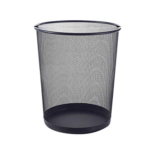Zfusshop Rubbish bin Waste Basket Barbed Wire Without Cover ,Home Office Trash Can,Kitchen Living Room Bathroom Waste Carton Living Room, Indoor, Outdoor, Kitchen, Bedroom