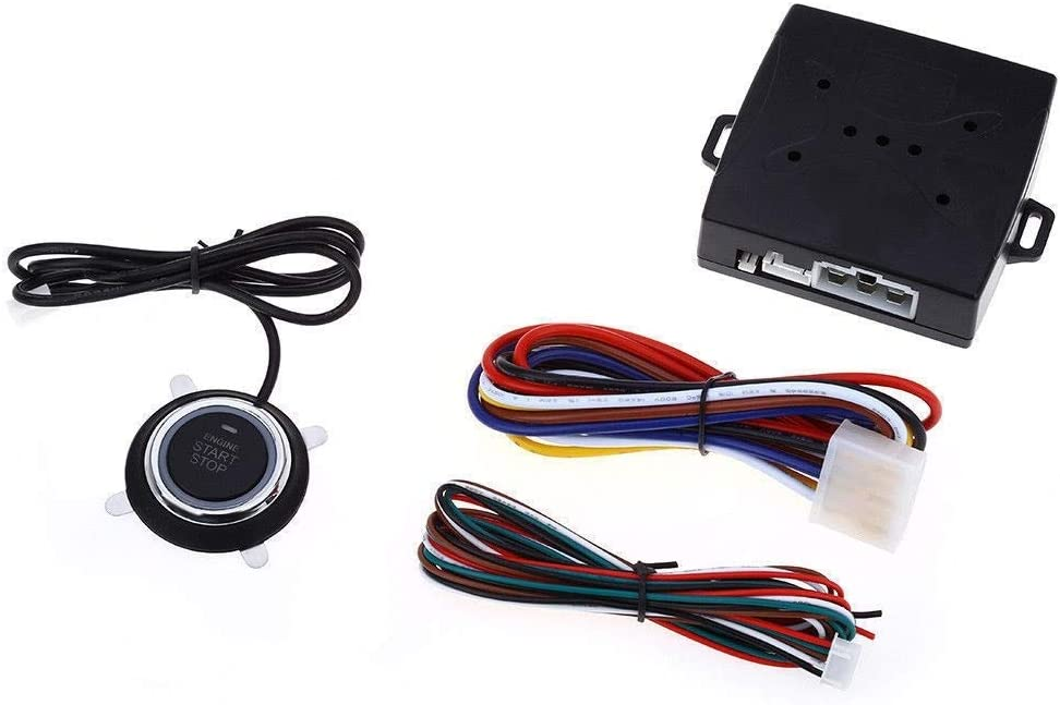 takestop Sistema para Coche Encendido Motor Start Stop pulsador Arranque con centralita 12V