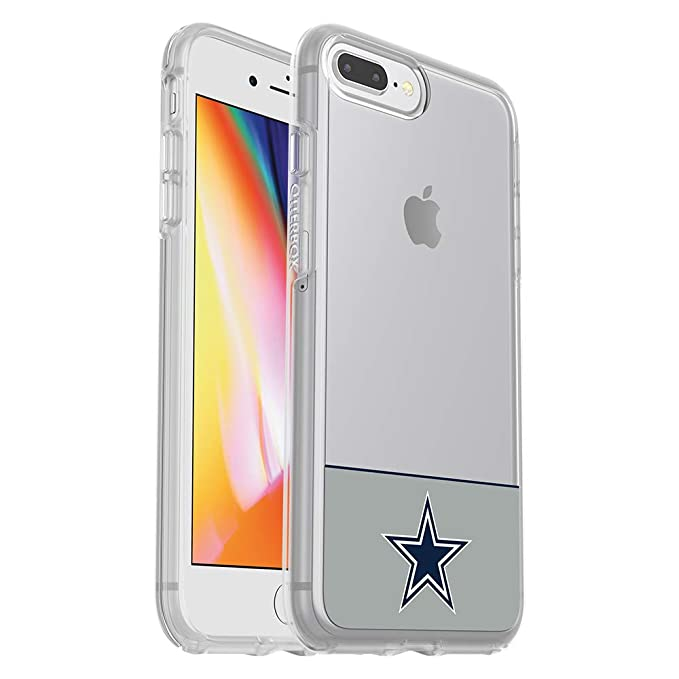 new style 7b678 d1ea5 OtterBox NFL SYMMETRY SERIES Case for iPhone 8 Plus & 7 Plus (ONLY) -  Retail Packaging - COWBOYS