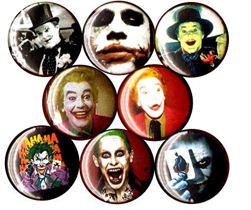 Batman 1966 Costume For Kids (JOKER 8 NEW 1 inch pins buttons badges dc comics batman suicide squad ha ha ha)