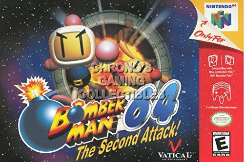 CGC Huge Poster - Bomberman 64 The Second Attack - Nintendo 64 N64 - N64010 (16