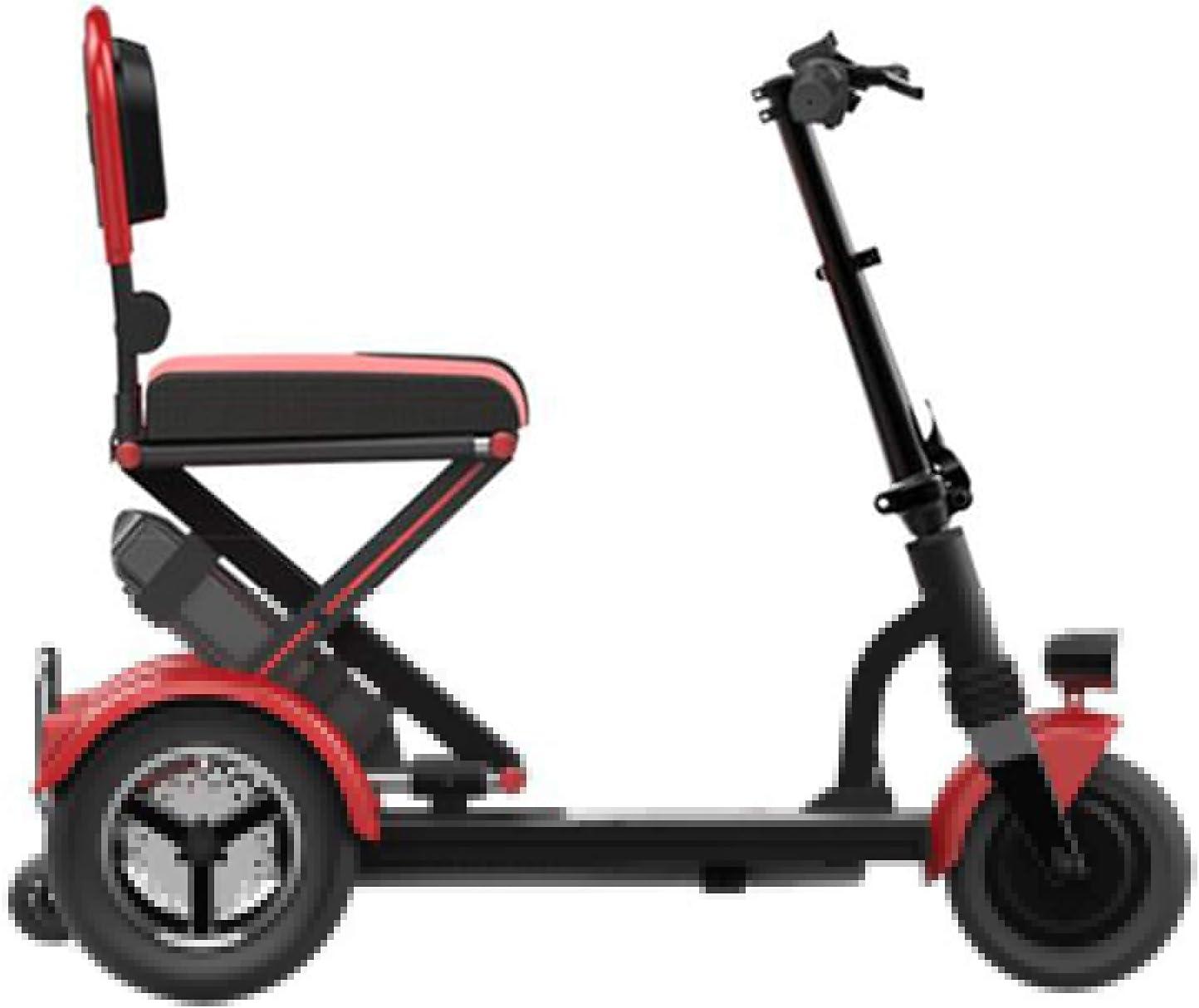 Carros médicos eléctricos motorizados Movilidad Plegable y Liviana; Tsroller-3-Wheel ; R Adultos Mayores, discapacitados o discapacitados
