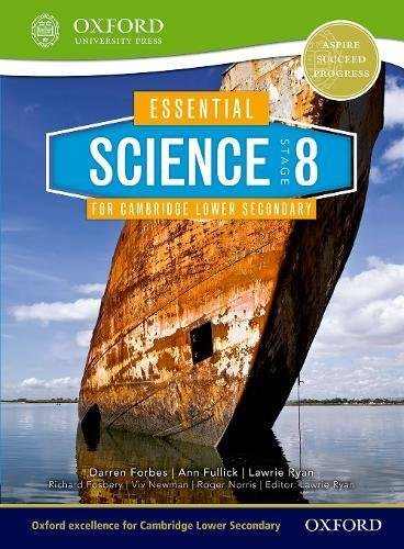 Download Essential Science for Cambridge Secondary 1 Stage 8 Student Book (CIE IGCSE Essential Series) PDF