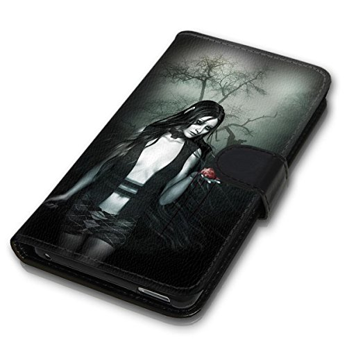 Wallet Book Style Flip Handy Tasche Case Schutz Hülle Schale Motiv Etui für Apple iPhone 6 / 6S - Design Flip MV209