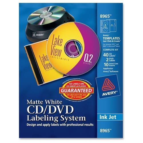 8965 Avery Matte White Film