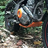 Motorcycle Engine Base Chassis Spoiler Guard Cover