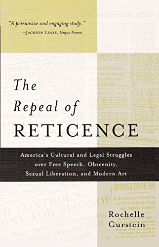 !!EXCLUSIVE!! The Repeal Of Reticence: America's Cultural And Legal Struggles Over Free Speech, Obscenity, Sexual Liberation, And Modern Art. present radios dureza accepted together temporal removed