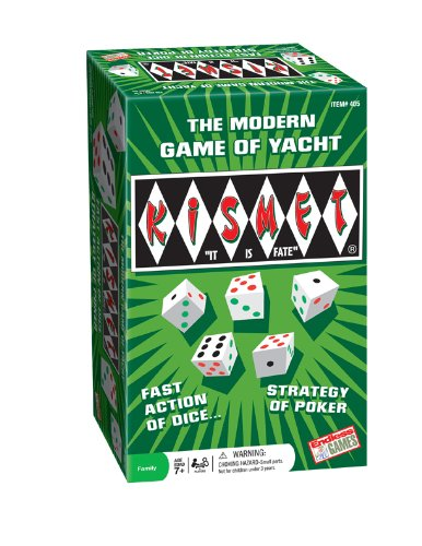 (Kismet - The Modern Game of Yacht - Family Board Game)