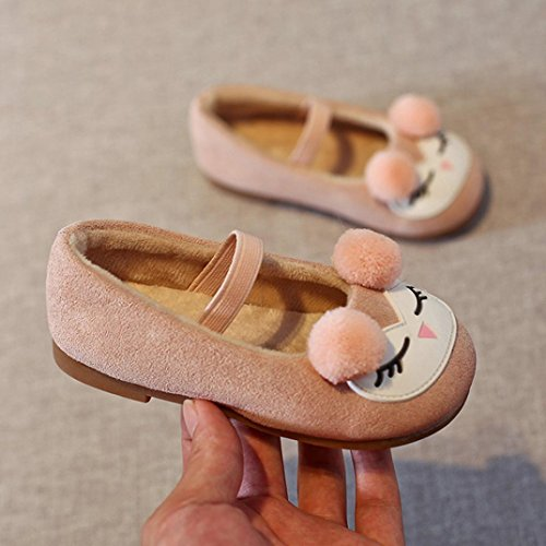 Hunpta Kleinkind Kinder Mädchen Cartoon Nette Prinzessin Sneaker Kinder Baby Casual Ball Schuhe Rosa