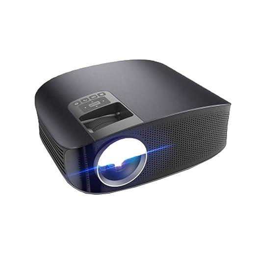RU Proyector Mini proyector portátil, LED 1080p Proyección HD ...
