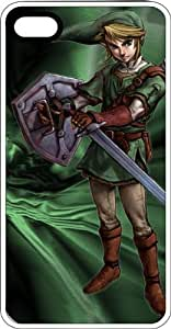 Link Shield & The Master Sword White Rubber Case for Apple iPhone 4 or iPhone 4s